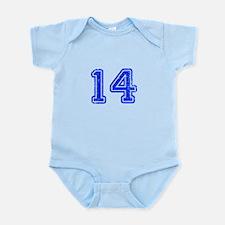 14-Col blue Body Suit
