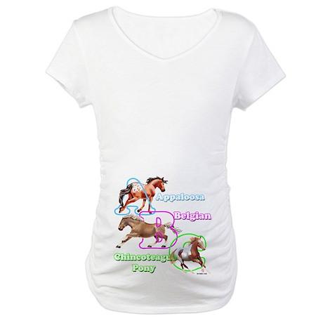 A-B-C Maternity T-Shirt