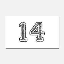 14-Col gray Car Magnet 20 x 12