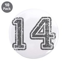 """14-Col gray 3.5"""" Button (10 pack)"""