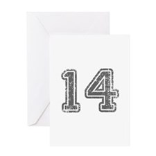 14-Col gray Greeting Cards