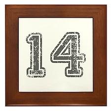 14-Col gray Framed Tile