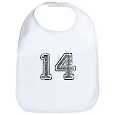 14-Col gray Bib