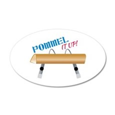 Pommel It Up! Wall Decal