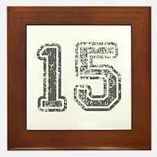 15-Col gray Framed Tile