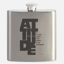 Winston churchill Inspirational Quotes Flask