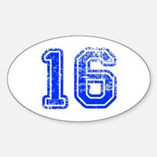 16-Col blue Decal