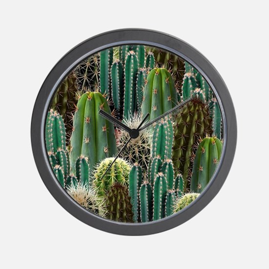 CACTUS PATCH Wall Clock