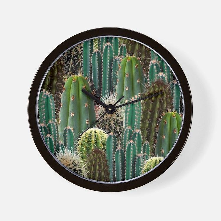 CACTUS PATCH Wall Clock