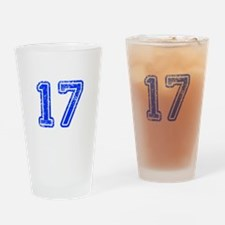 17-Col blue Drinking Glass