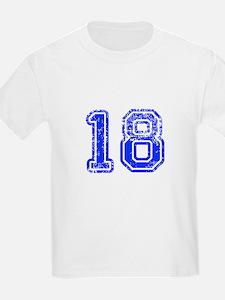 18-Col blue T-Shirt