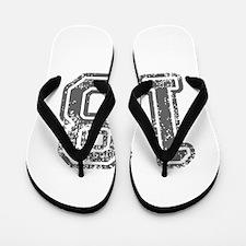 18-Col gray Flip Flops