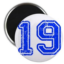 19-Col blue Magnets