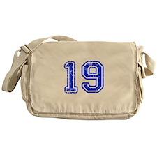 19-Col blue Messenger Bag