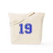 19-Col blue Tote Bag