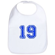 19-Col blue Bib