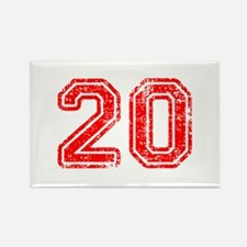20-Col red Magnets