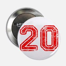 """20-Col red 2.25"""" Button (100 pack)"""