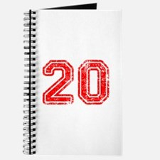 20-Col red Journal