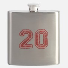 20-Col red Flask