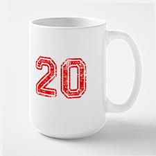 20-Col red Mugs
