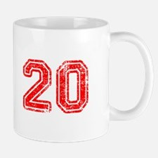20-Col red Mugs