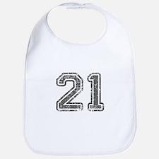 21-Col gray Bib