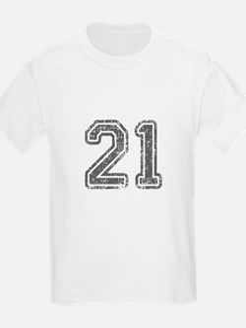 21-Col gray T-Shirt