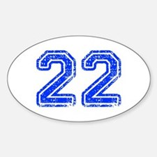 22-Col blue Decal