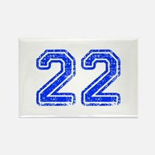22-Col blue Magnets