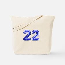 22-Col blue Tote Bag