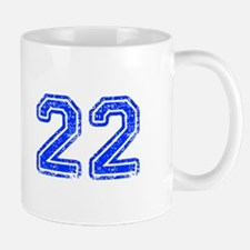 22-Col blue Mugs