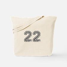 22-Col gray Tote Bag