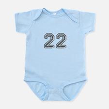 22-Col gray Body Suit