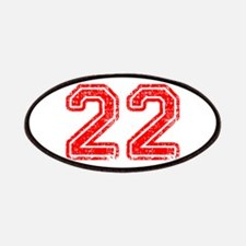 22-Col red Patch