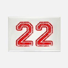 22-Col red Magnets