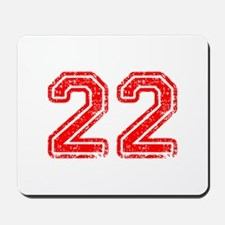 22-Col red Mousepad