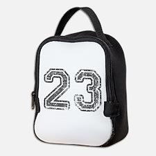 23-Col gray Neoprene Lunch Bag