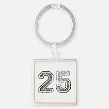 25-Col gray Keychains
