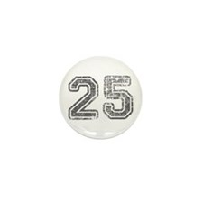 25-Col gray Mini Button (10 pack)