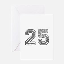 25-Col gray Greeting Cards