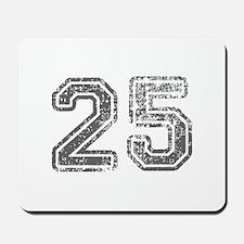 25-Col gray Mousepad