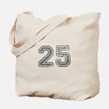 25-Col gray Tote Bag