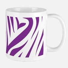 Zebra Stripes Purple Mug