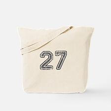 27-Col gray Tote Bag
