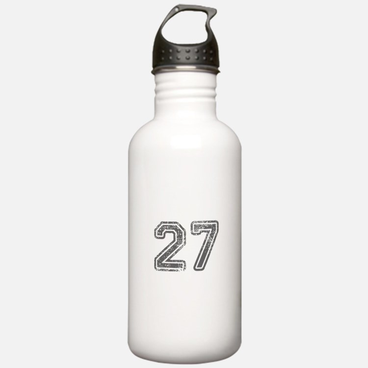 27-Col gray Water Bottle