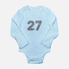 27-Col gray Body Suit