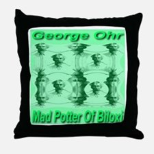 George Ohr, Mad Potter of Bil Throw Pillow