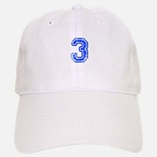 3-Col blue Baseball Baseball Baseball Cap
