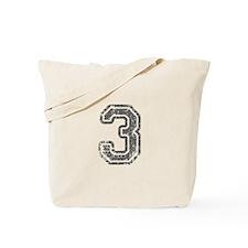 3-Col gray Tote Bag